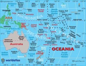 AUSTRALIJA- OCEANIJA