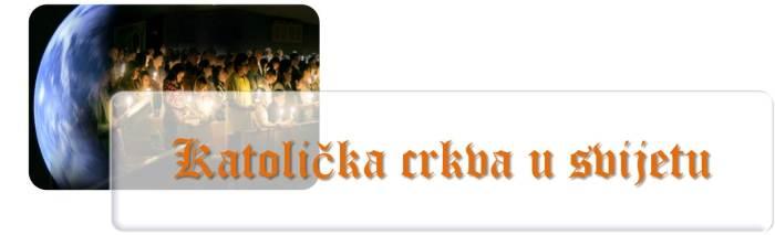 Katolička crkva u svijetu