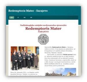 Nadbiskupsko mesijsko sjemenište Redemptoris Mater - Sarajevo