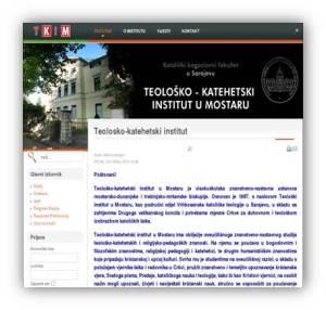 Teološko katehetski institu Mostar
