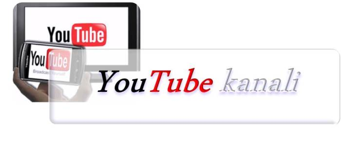 YOuTube kanali